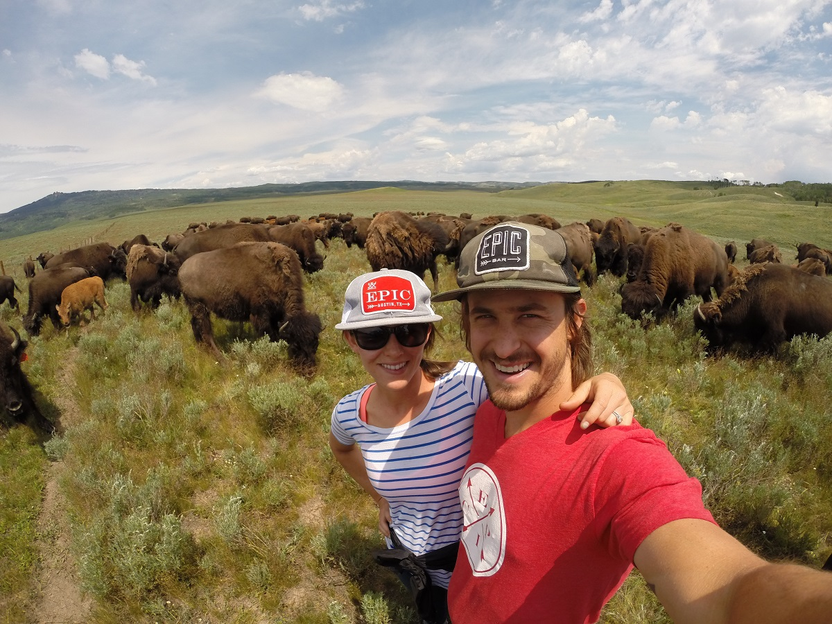 EPIC co-founders Taylor Collins and Katie Forrest. Photo courtesy EPIC Provisions.