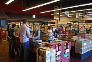 Good Earth stores have a wide demographic of customers.