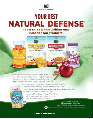Nutrition Now - Warm Herbal
