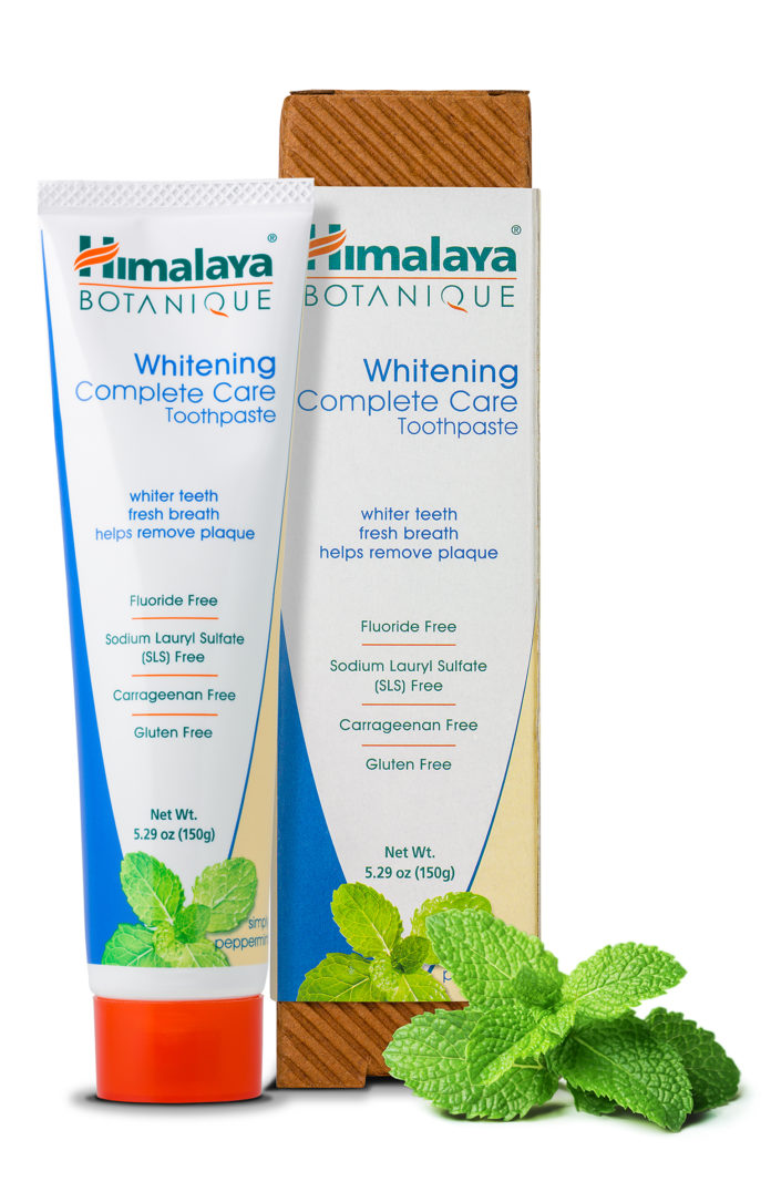 Carrageenan free toothpaste