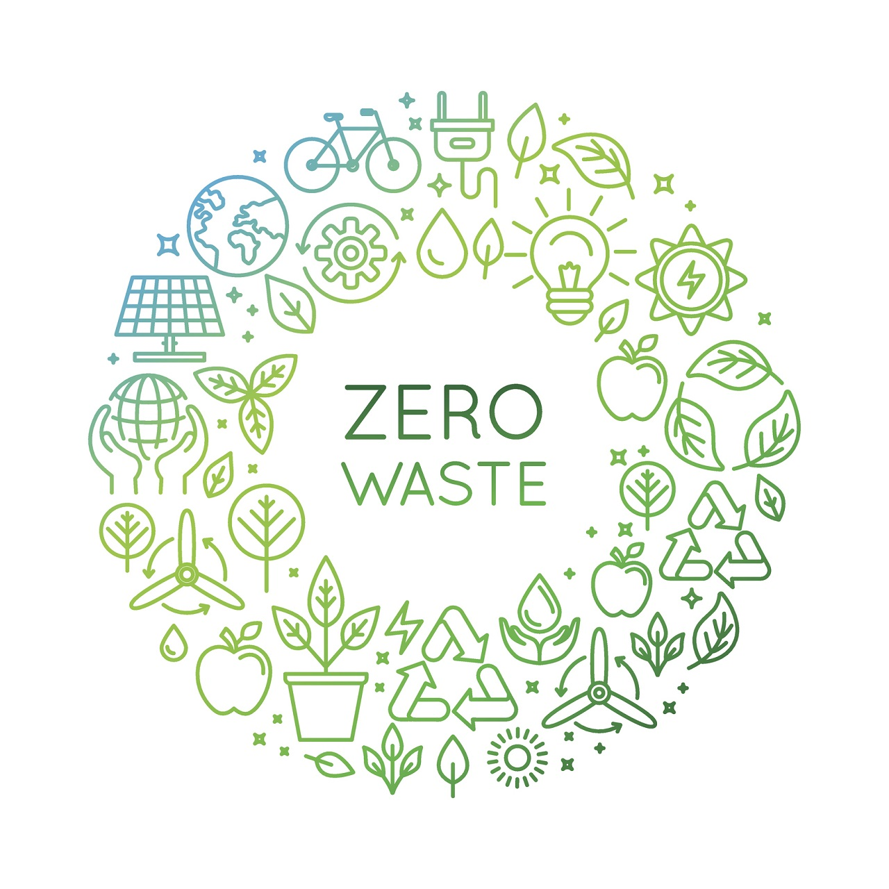zero waste Management of waste at au aims to utilize renewable materials, enhance the  campus environment, and protect the health of the university community the  zero.