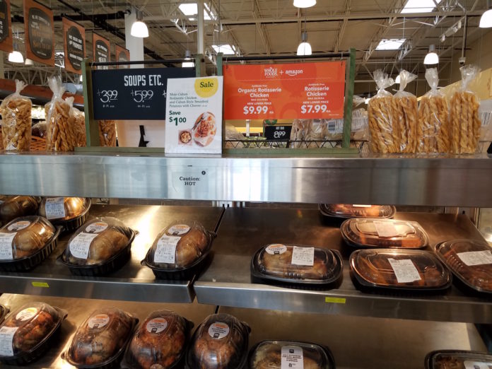 Whole Foods Amazon cuts chicken prices