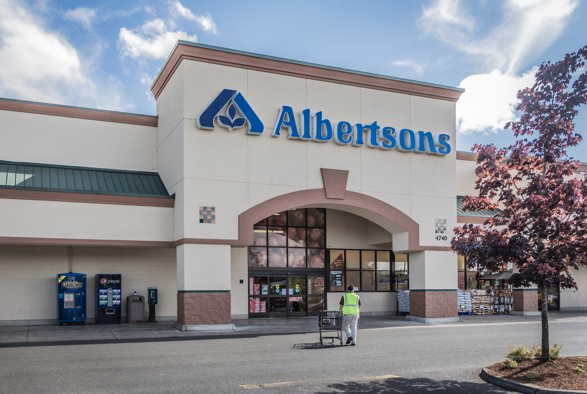 Amazon is common rival of Albertsons and Walmart