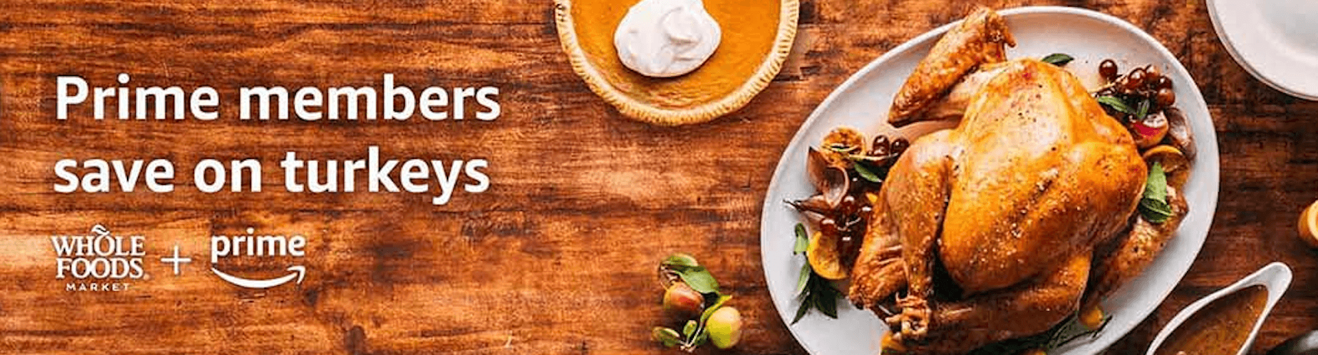 Whole Foods Thanksgiving Sale