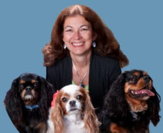 Dr. Judy Morgan, holistic veterinarian and author of Yin & Yang Nutrition for Dogs