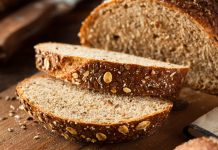 Organic Homemade Whole Wheat Bread Ready to Eat