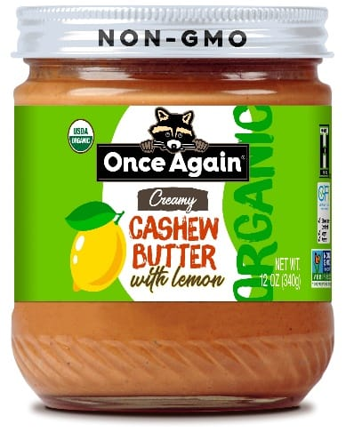 once again nut butter