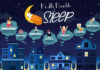 A vector illustration of health benefits of sleep infographic